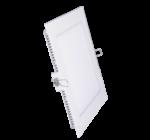 négyzet led panel meleg fehér