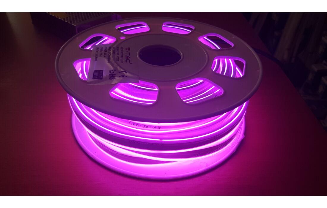 24v os led neon flex violet sz n cs. Black Bedroom Furniture Sets. Home Design Ideas