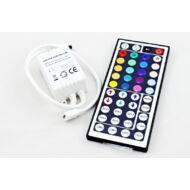 infrás,72W,44 gombos RGB vezérlő LED szalaghoz
