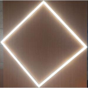 világító keret kazettás mennyezetben.