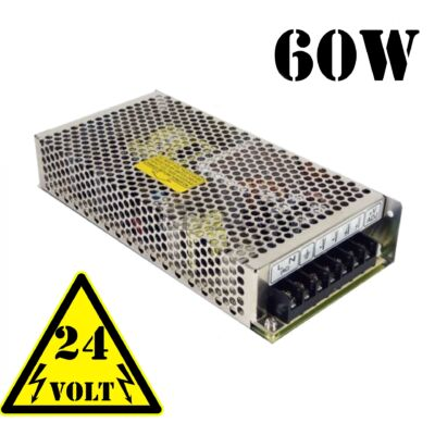 2,5 amper, 60 watt tápegység