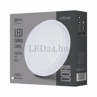 Dori 18W led panel, ip54