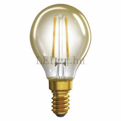 2W E14 Vintage filament izzó, meleg fehér