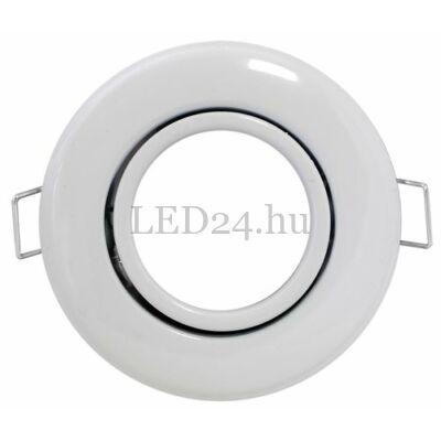 fehér dönthető spot keret mr16 vagy gu10 foglalathoz