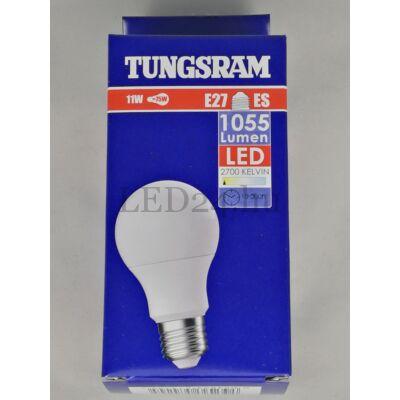 Tungsram 11W, meleg fehér, e27
