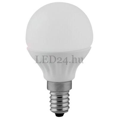 5,5w e14 led lámpa meleg fehér P45 természetes