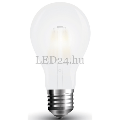 filament led lámpa 6w, frost, opál