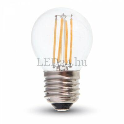 4w meleg fehér filament led izzó