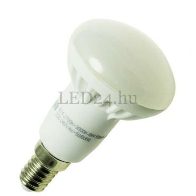 6W-os Led lámpa (R50 forma, E14, 400 lumen, meleg fehér, 120° szórásszög)