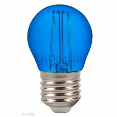 2w kék filament led izzó