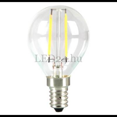 2W retro filament izzó, meleg fehér, E14, v-tac 4262