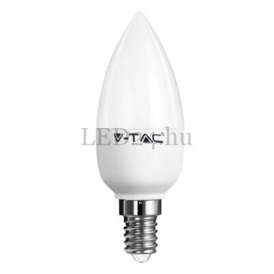 6W E14 gyertya forma led lámpa meleg fehér fényerőszabályozható dimmelhető