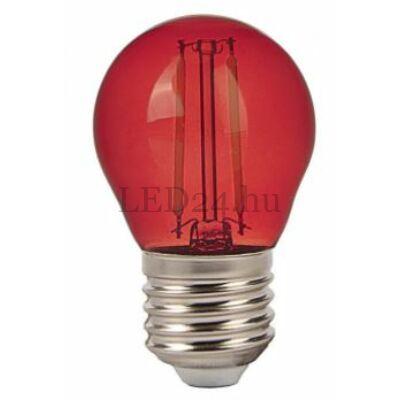 2w piros filament led izzó
