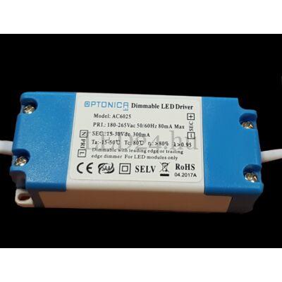 Dimmelhető tápegység 6W-os LED panelhez