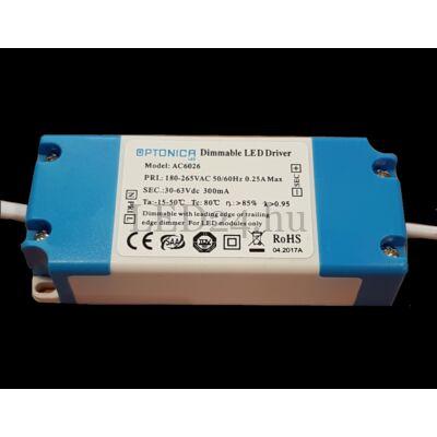 Dimmelhető tápegység 10-18W-os LED panelhez