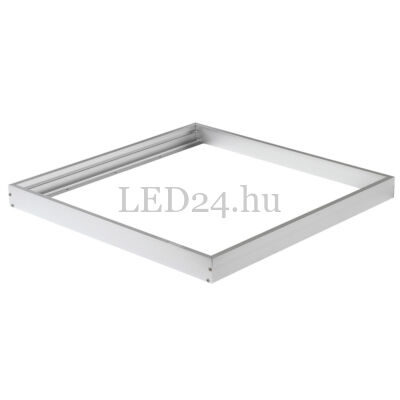 Led panel beépítőkeret (falon kívüli, fehér, 600×600 mm)