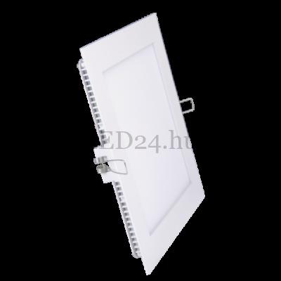 négyzet alakú beépíthető led panel meleg fehér