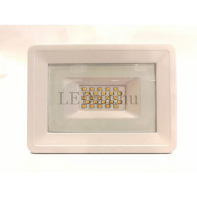 fehér slim led reflektor meleg fehér színhőmérséklet