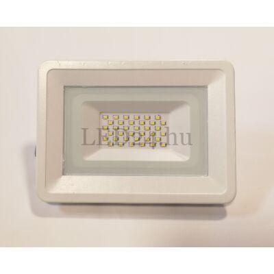 30w fehér slim led reflektor természetes fehér színhőmérséklet