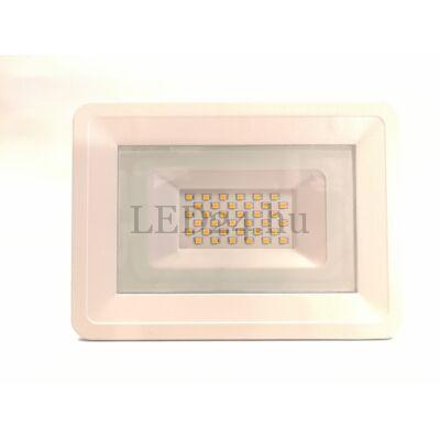 30w fehér slim led reflektor meleg fehér színhőmérséklet