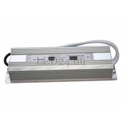 150W Led tápegység IP65 (12V, 12,5A, vízálló, kötetlen)