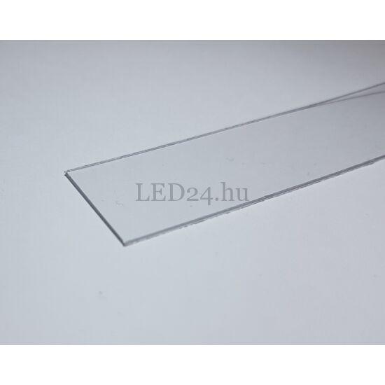 """Víztiszta takaró fedél """"Cabi"""" és """"Surface14"""" LED profilhoz"""