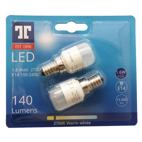 e14 1,6w led lámpa 140lm hűtőbe elszívóba