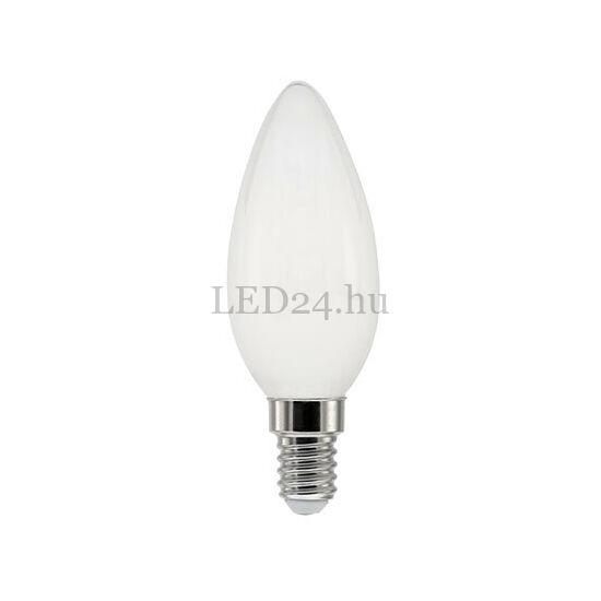 5W E14 gyertya forma led lámpa meleg fehér dimmelhető