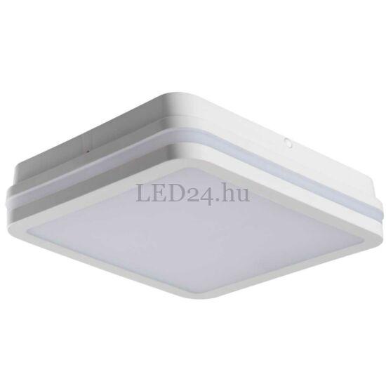 Kanlux Beno led lámpa, 24w, természetes fehér, fehér négyzet, szenzoros