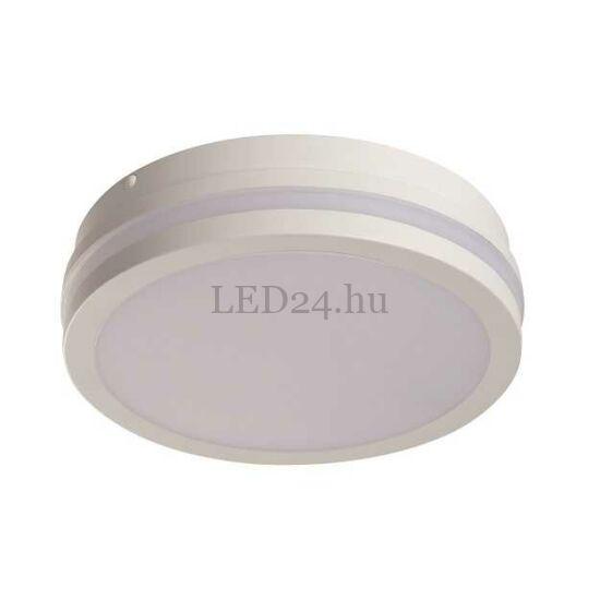 Kanlux Beno led lámpa, 18w, természetes fehér, fehér kör, szenzoros