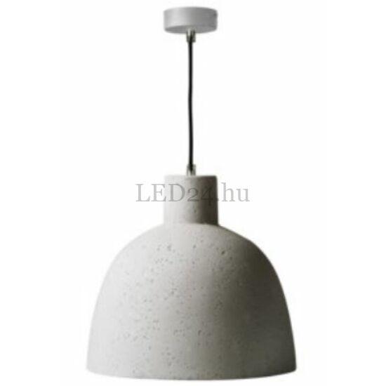 Beton hatású, dekorációs lámpatest, E27