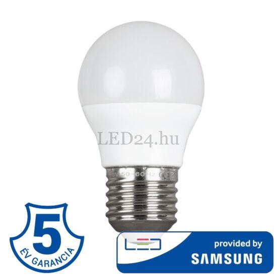 5,5w e27 g45 mini gömb lámpa meleg fehér