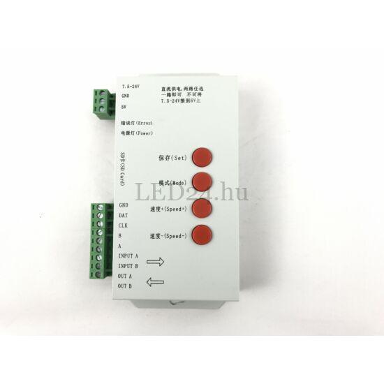 Digitális LED szalag vezérlő, DC5V/DC7,5-24V