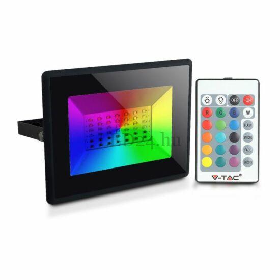 50W RGB Led Reflektor, Infrás Távirányítóval