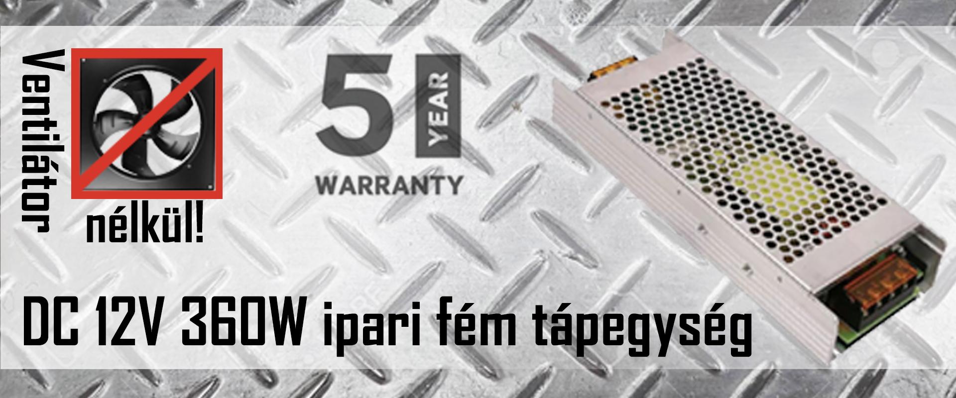 360W LED tápegység