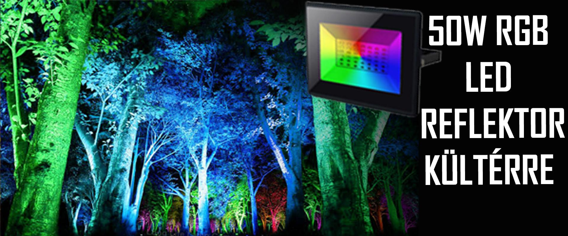 50W RGB LED Reflektor